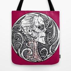 Erik Red Death - Black and White Version  Tote Bag