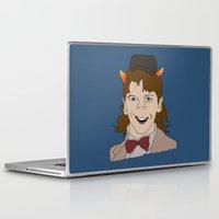 fandom Laptop & iPad Skins featuring Fandom Monster by Dansparce