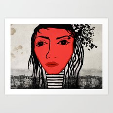 123. Art Print