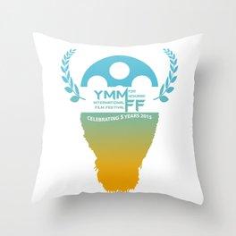 YMMiFF 2015 - BUFFALO HEAD DESIGN Throw Pillow