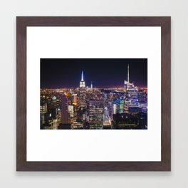 Sky Scrapers  Framed Art Print