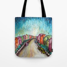 The Street Near My Street Tote Bag