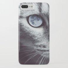 Moon cat Slim Case iPhone 7 Plus