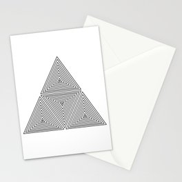 OPTICAL ILLUSIONS Stationery Cards