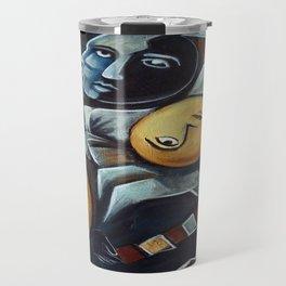 Indigo Blues Travel Mug
