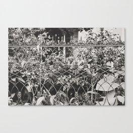New Orleans Garden District Fence Canvas Print