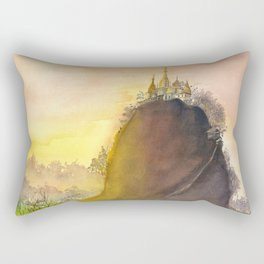 Mount Popa Rectangular Pillow