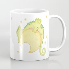 dragon & moon Coffee Mug