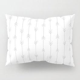 arrow pattern 2 grey Pillow Sham