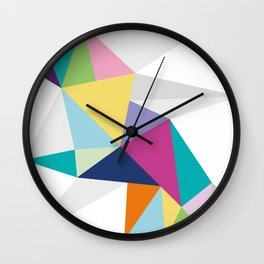 Triangle Brights Wall Clock