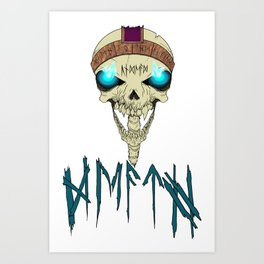 Death To The Living! Art Print