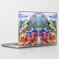 africa Laptop & iPad Skins featuring Africa by CrismanArt