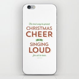 Christmas Cheer iPhone Skin