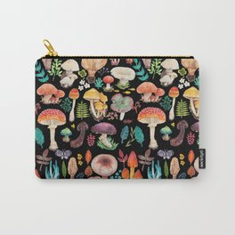 Mushroom heart Carry-All Pouch