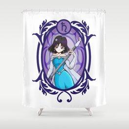 Princess Saturn Shower Curtain