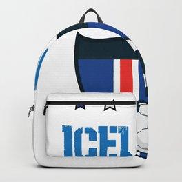 Iceland 2018 World Football 2018 - Iceland Flag Backpack