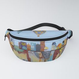 """Over and Under"" Fanny Pack"