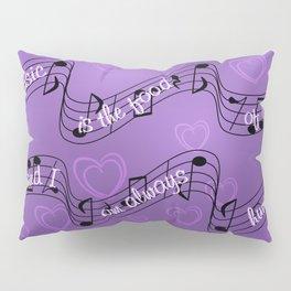 Music, food & love Pillow Sham