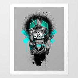 Elektrik Sun Art Print