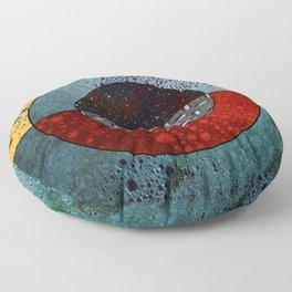 Abstract #127 Floor Pillow