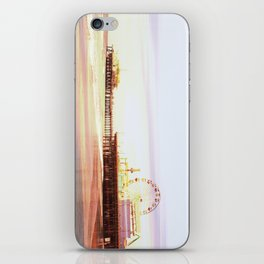 Santa Monica Pier Sunrise iPhone Skin