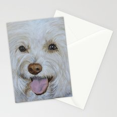 Bella the Maltese Stationery Cards