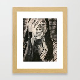 Embracing Your Body Framed Art Print
