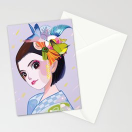 Maikohan Summer Cutie Stationery Cards