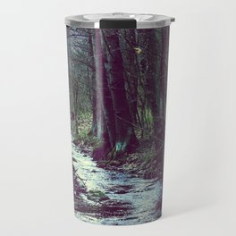 forest stream Travel Mug