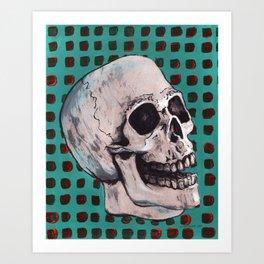 Skull 1974 Art Print