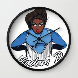 Madam Cartoon Wall Clock