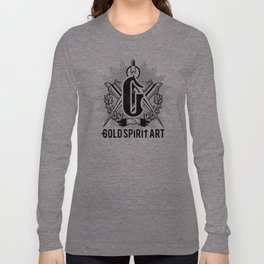 Gold Spirit Art Long Sleeve T-shirt