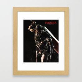 GUTS - Berserk Fan Art Framed Art Print