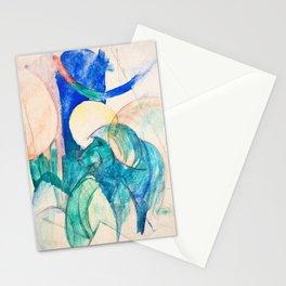 12,000pixel-500dpi - Franz Marc - Mandrill - Digital Remastered Edition Stationery Cards
