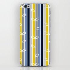 flower stripe iPhone & iPod Skin