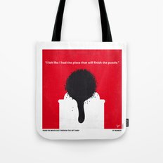 No130 My Exit Through the Gift Shop minimal movie poster Tote Bag