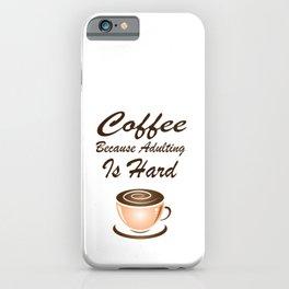 Coffee Mania iPhone Case
