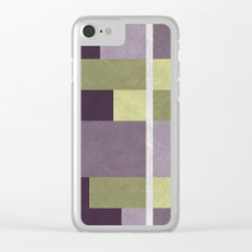 Geometric Marble 05 Clear iPhone Case
