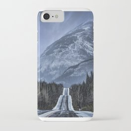 Journey on the Icefields Parkway iPhone Case