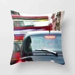 'DOUBLE DECKER' Throw Pillow
