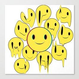 Smiling away Canvas Print