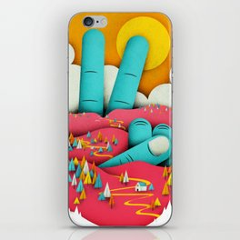 Finding Peace iPhone Skin
