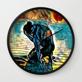 Light of the Burning Moon Wall Clock