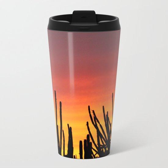 Catching fire Metal Travel Mug