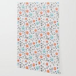 Millefiori Monotone Wallpaper