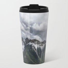 Landscape Banff Gondola Lush Mountains Travel Mug