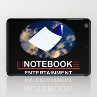 notebook iPad Cases featuring Notebook Entertainment 2 by NotebookFilms