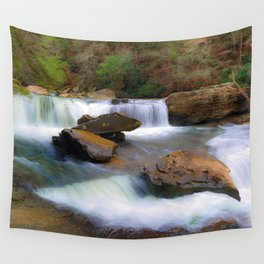 Obed Waterfall Wall Tapestry