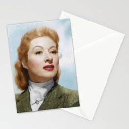 Greer Garson, Vintage Actress Stationery Cards