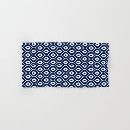 Leela Navy Hand & Bath Towel